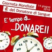 """Leggi """"14 giugno 2010:""""giornata mondiale del donatore di sangue"""""""""""