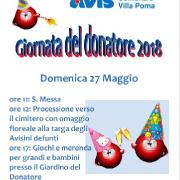 """Leggi """"27 maggio, Giornata del Donatore a Villa Poma"""""""